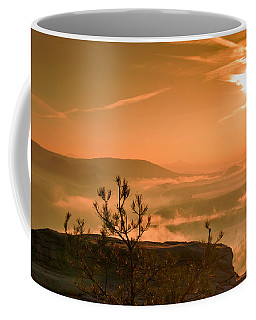 Early Morning On The Lilienstein Coffee Mug