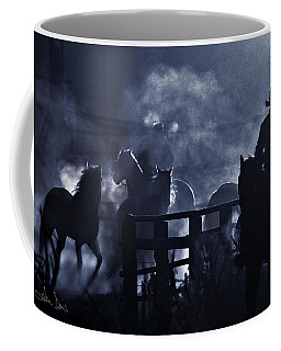 Early Morning Smoke Coffee Mug