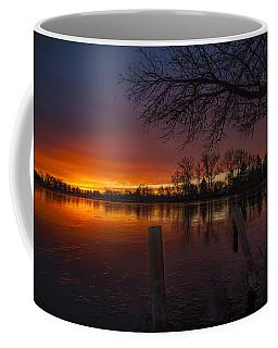 Coffee Mug featuring the photograph Early Morning Sunrise by Nicholas  Grunas