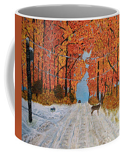 Early Snow Coffee Mug