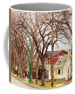 Early Spring Street Coffee Mug