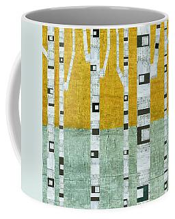Early Winter Birches Coffee Mug