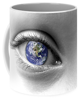 Earth Eye Coffee Mug