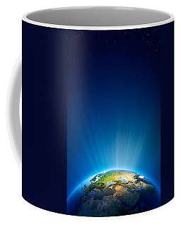 Earth Radiant Light Series - Europe Coffee Mug