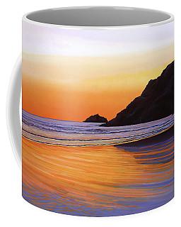 Earth Sunrise Sea Coffee Mug