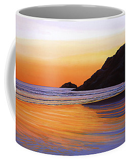 Earth Sunrise Sea Coffee Mug
