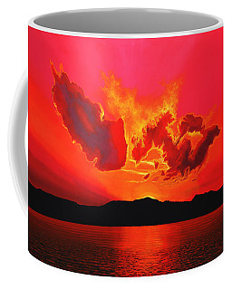 Earth Sunset Coffee Mug