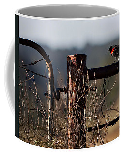Eary Morning Blackbird Coffee Mug