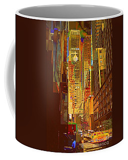 East 45th Street - New York City Coffee Mug