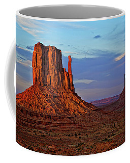 East And West Mitten Buttes In Monument Coffee Mug