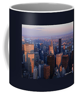 East Coast Wonder Aerial View Coffee Mug
