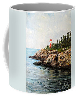 East Quoddy Head Light Coffee Mug by Lee Piper
