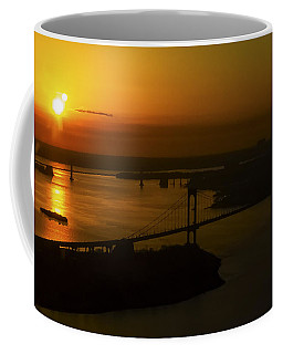 East River Sunrise Coffee Mug