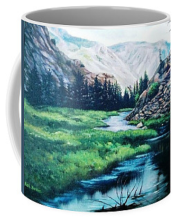 East Rosebud Inlet Pond Coffee Mug