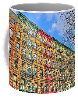 East Village Buildings On East Fourth Street And Bowery Coffee Mug