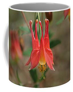 Wild Columbine Coffee Mug by William Tanneberger