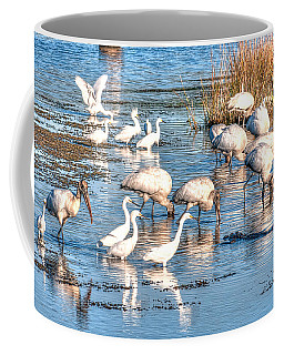 Eating With Caution Coffee Mug