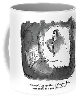 Ebenezer!  I Am The Ghost Of Christmas Coffee Mug