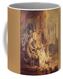 Ecce Homo, 1634 Oil On Paper Coffee Mug