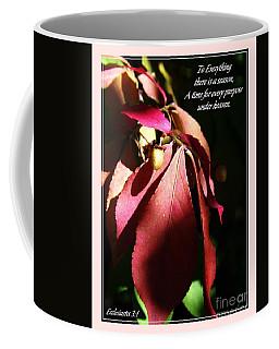 Ecclesiastes 3 Verse 1 Coffee Mug
