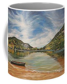 Echo Lake In Franconia Notch New Hampshire Coffee Mug