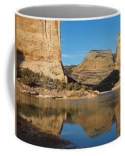 Echo Park In Dinosaur National Monument Coffee Mug by Nadja Rider