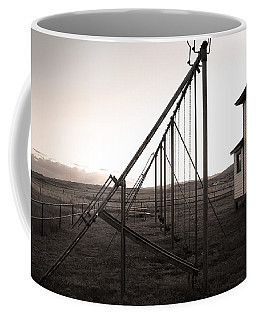 Coffee Mug featuring the photograph Echoes Of Laughter by Jim Garrison