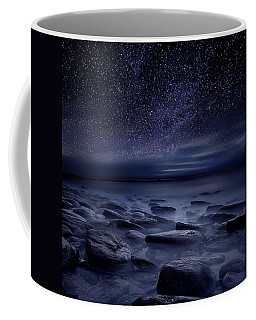 Echoes Of The Unknown Coffee Mug by Jorge Maia