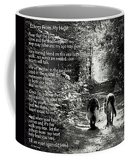 Echos From My Heart Coffee Mug