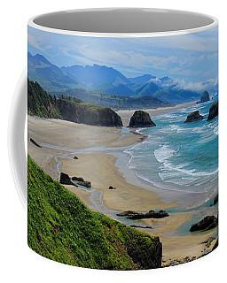 Ecola State Park Beach Coffee Mug