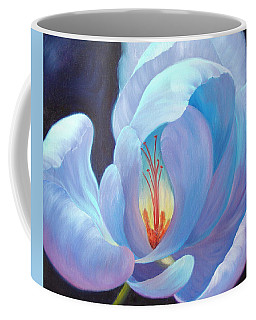 Coffee Mug featuring the painting Ecstasy by Sandi Whetzel