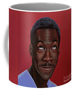 Eddie Murphy Painting Coffee Mug