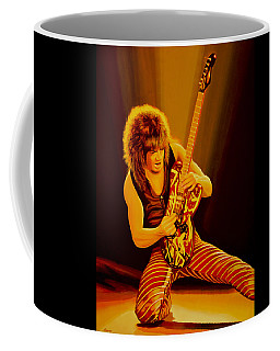 Eddie Van Halen Painting Coffee Mug
