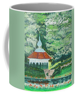 Eden Park Gazebo  Cincinnati Ohio Coffee Mug