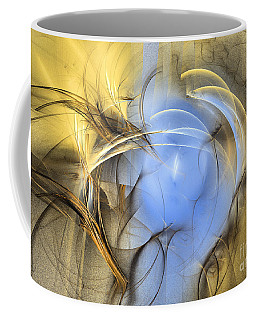 Eden - Abstract Art Coffee Mug