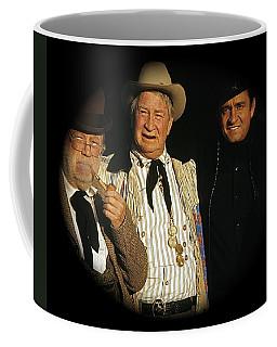 Coffee Mug featuring the photograph Edgar Buchanan Chills Wills  Johnny Cash Porch Old Tucson Arizona 1971-2008 by David Lee Guss