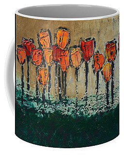 Edgey Tulips Coffee Mug