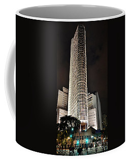 Edificio Italia By Night Coffee Mug