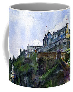 Edinburgh Castle Scotland Coffee Mug