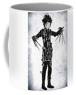 Edward Scissorhands - Johnny Depp Coffee Mug by Ayse Deniz