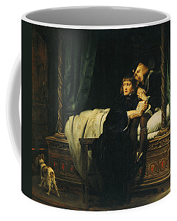 Edward V 1470-83 And Richard, Duke Of York In The Tower Les Enfants Dedouard 1830 Oil On Canvas See Coffee Mug