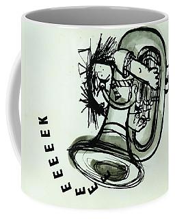 Eeeeeeek! Ink On Paper Coffee Mug
