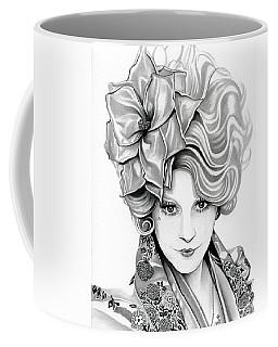 Effie Trinket - The Hunger Games Coffee Mug by Fred Larucci