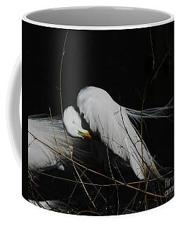 Egret Bird City At Avery Island Louisiana Coffee Mug