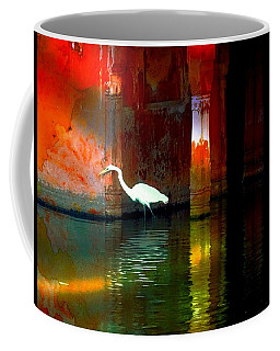 Egrets Have A Palace For Nesting Coffee Mug