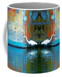 Egrets Nest In A Palace Coffee Mug