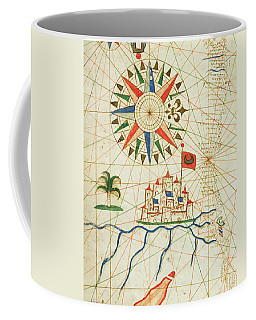 Egypt, The River Nile And Cairo, From A Nautical Atlas, 1646 Ink On Vellum  Coffee Mug