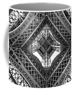 Eiffel Abstract Coffee Mug by Delphimages Photo Creations