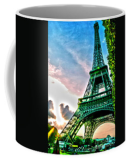 Eiffel Tower 8 Coffee Mug by Micah May