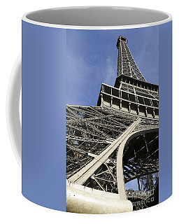 Coffee Mug featuring the photograph Eiffel Tower by Belinda Greb
